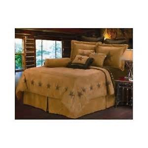 country king size bedroom sets western king size comforter set khaki tan star cowboy bed bedroom country decor ebay