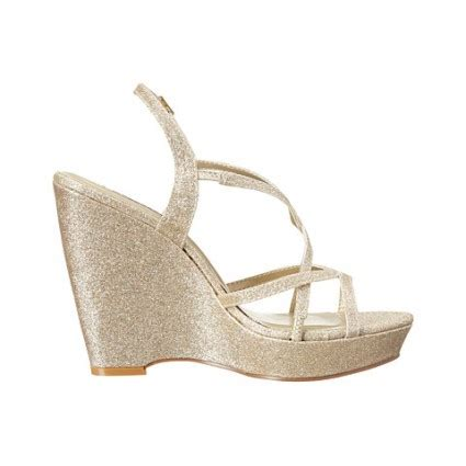 Gold Bridal Wedges by What Is Special About Wedge Wedding Shoes Styleskier