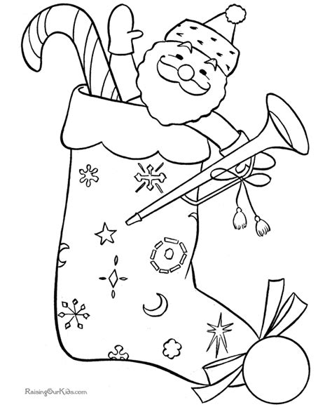 coloring page stockings christmas stocking coloring pages coloring home