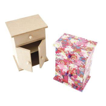 mdf wardrobe style jewellery box with wood and wood