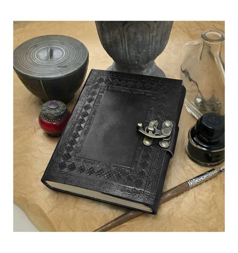 Handmade Leather Journals With Handmade Paper - made writing drawing journal with made
