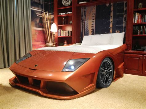 Man Bathroom Ideas by Jake S Chop Shop Lambo Style Bed