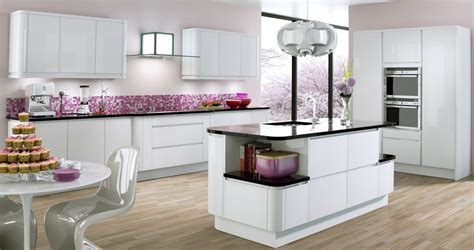Kitchen Installation Supply Only Kitchens Berkshire Gloss Kitchen Designs