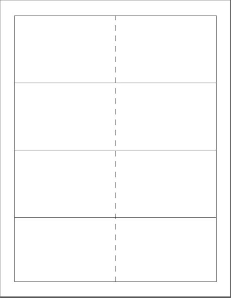 flashcard template for word new blank flashcard template free printable flash cards