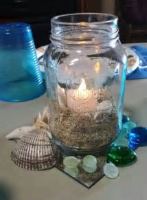 Ocean themed centerpiece baby shower pinterest