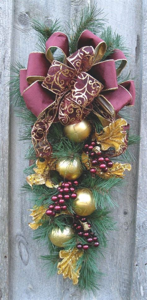 wear  christmas swags  doors roy