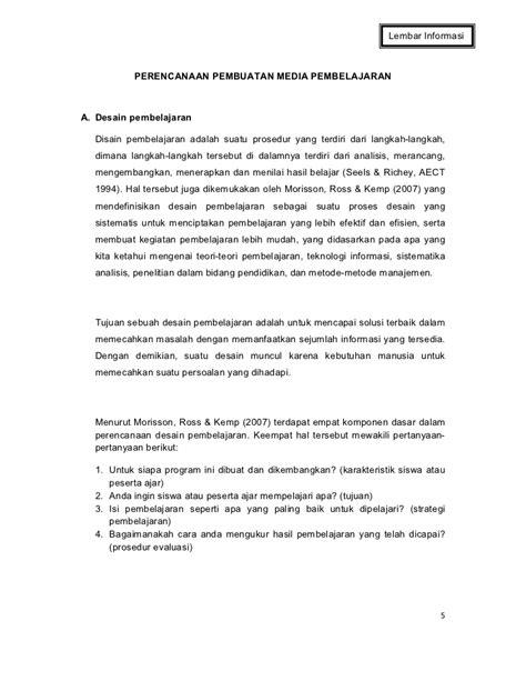Perencanaan Pembelajaran Hamzah B Uno Bma 4 perencanaan desain pembelajaran
