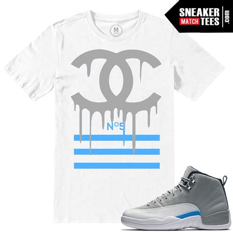 sneaker tees t shirts match retro 12 wolf grey sneaker match tees