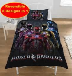 Power Ranger Bed by Power Rangers Within Design Single Duvet Quilt Cover