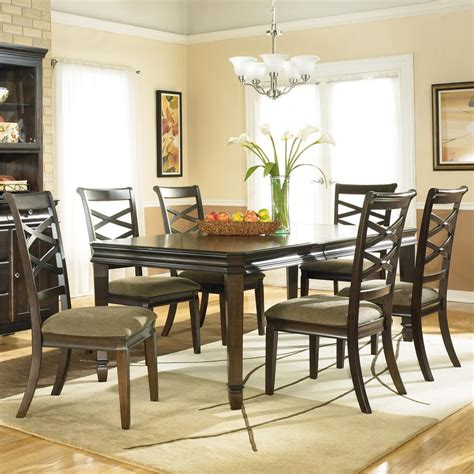ashley dining room sets signature design by ashley furniture hayley 7 piece dining