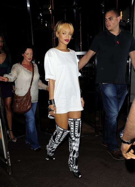 rihanna mini dress rihanna clothes looks stylebistro