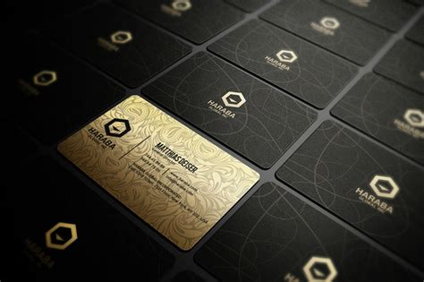Gold And Black Business Card Business Card Templates On Creative Market Black And Gold Business Card Templates Free
