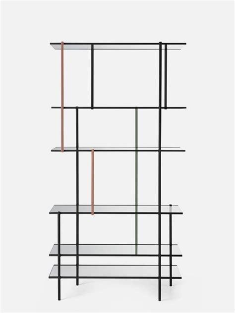 minimalist shelf modern minimalist shelving system assembled of thin metal