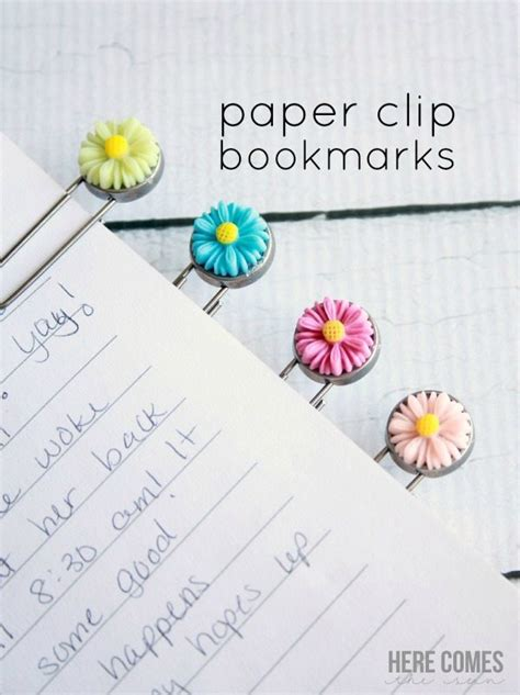 How To Make Paper Clip Bookmark - paper clip bookmarks here comes the sun