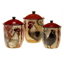 Rooster Kitchen Canisters Kitchen Canisters Amp Jars Type Canning Jars Canisters