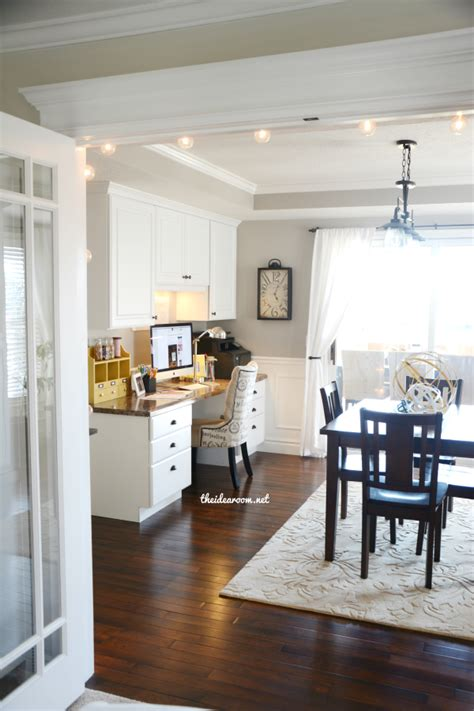 Natural Kitchen Cabinets office craft room tour the idea room