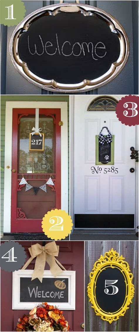 decorative accents ideas 36 creative front door decor ideas not a wreath home