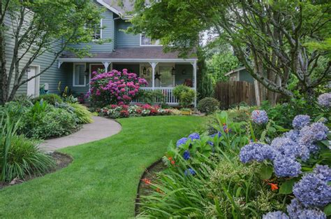Landscape Ideas To Divide Yards 35 Hydrangea Garden Ideas Pictures