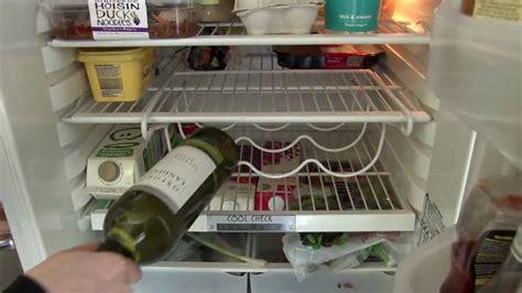 Bottle Rack Fridge by Space Saver Fridge Wine Bottle Rack
