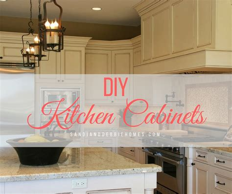 easy diy kitchen cabinets diy kitchen cabinets to upgrade on a budget sandi clark