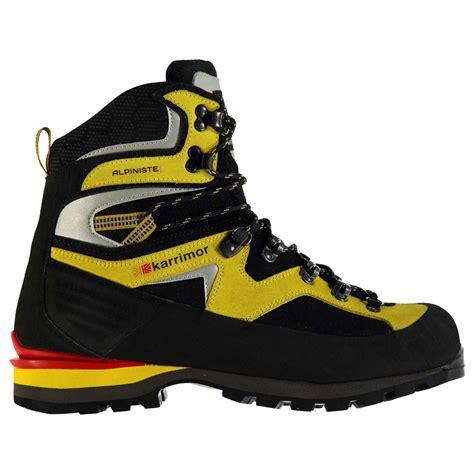 karrimor mens boots karrimor karrimor alpiniste mens mountain boots mens