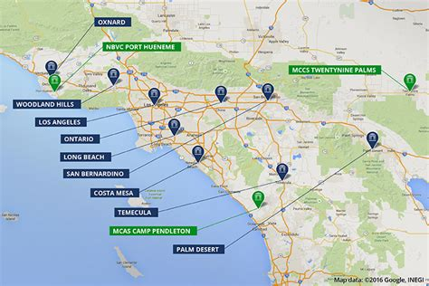 map of colleges in southern california colleges universities in southern california national