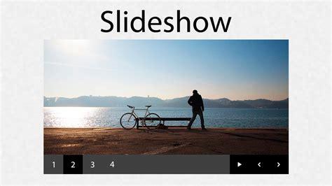 imagenes html slider como hacer un slideshow para un sitio web con html css y