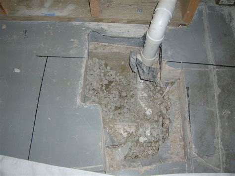 basement shower drain sink drain issues