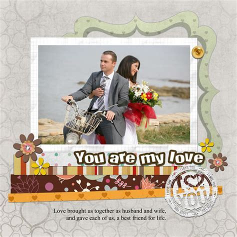 Anniversary Scrapbook Templates & Samples   Scrapbook