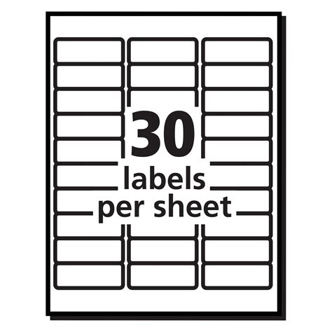 pictures blank label templates 30 per sheet christmas template