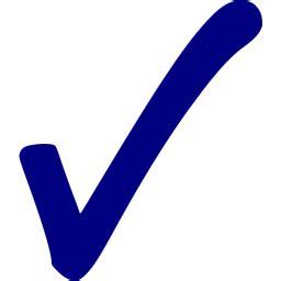 navy blue check mark  icon  navy blue check mark icons