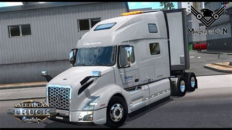 volvo 760 truck walmart volvo vnl 760 2018 american truck simulator youtube