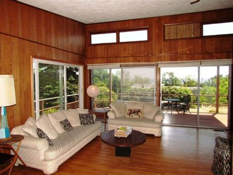Lighting For Kitchen Ideas by Mid Century Modern Replace Wood Paneling Redo Floors