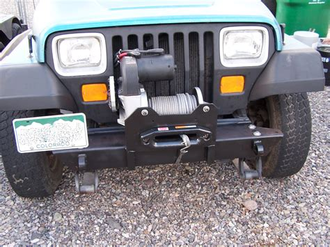yj jeep bumpers front bumper mounting kit for jeep wrangler yj tj