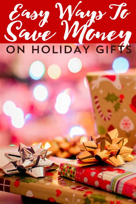 how to save money on christmas presents easy ways to save money on gifts frugal beautiful