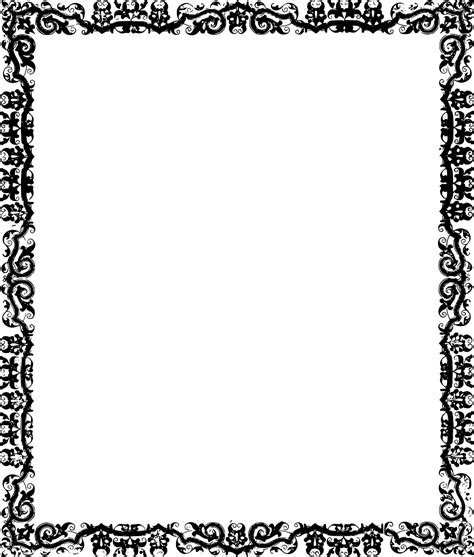 pattern frame border frame pattern design transparent image border