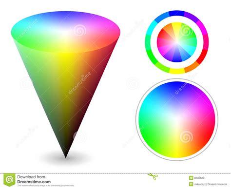 color cones color cone stock vector illustration of print geometric