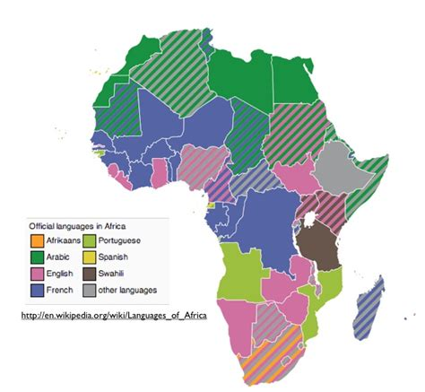 map of speaking countries in africa december 2011 archives geocurrents
