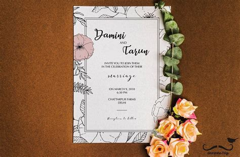 The Best Wedding Invitation Wording Ideas For Friends
