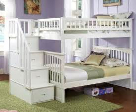beds for teenagers bedroom white full size bunk beds with stairs for