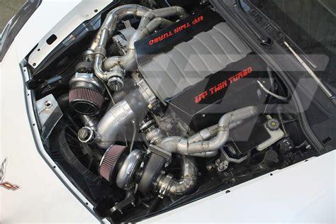 C7 Corvette Turbo Kit by Upp C7 Turbo Kit Pressure Performance Turbo