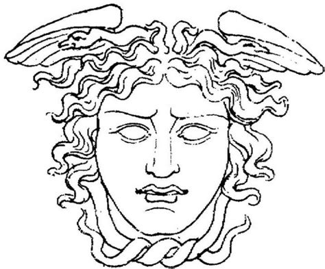 medusa coloring pages medusa coloring coloring pages