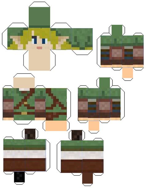 Minecraft Papercraft Skins - paper crafts minecraft skins