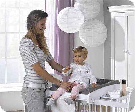 cambiador de cuna para bebe cambiador de beb 233 para cuna modelo paule en color blanco