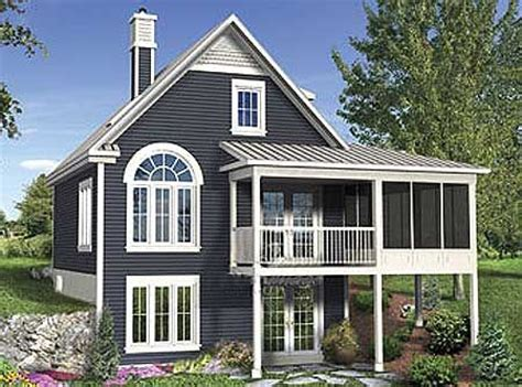 lake house plans with screen porches lake house plans with plan 80646pm vacation escape with sunroom screened