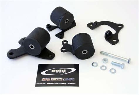 avid racing steel 01 06 dc5 ep3 mount kit 62 shore am