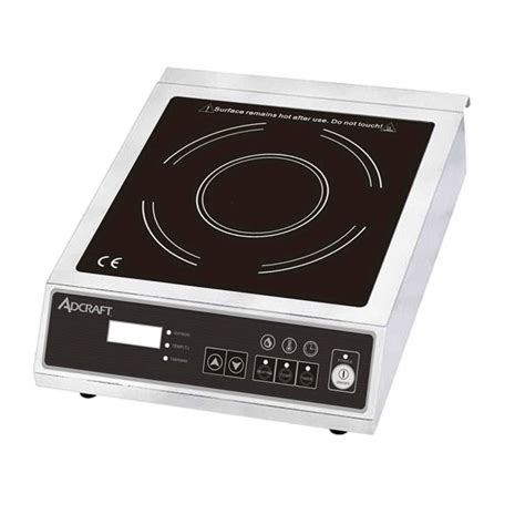 induction cooking plate review adcraft ind e120v countertop 120 v induction plate w electric controls