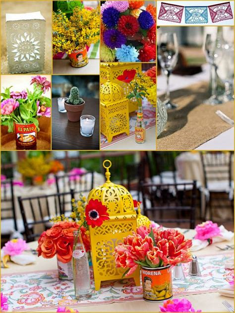 mexican wedding decor    candle bag   pic