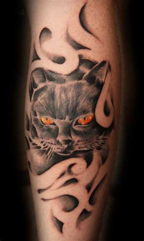 tattoo cat smoking tattooinc realistic tattoo gallery