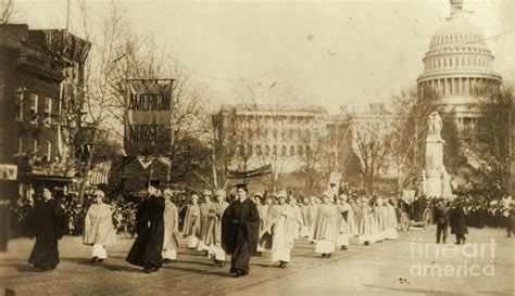 suffragists in washington dc the 1913 parade and the fight for the vote american heritage books 1913 suffragette parade in washington d c photograph by
